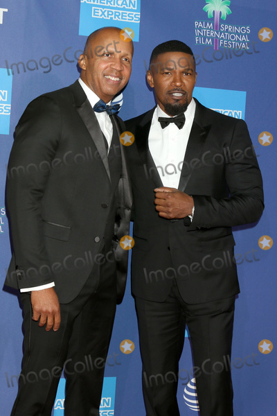 Jamie Foxx Photo - PALM SPRINGS - JAN 2  Bryan Stevenson and Jamie Foxx at the 2020 Palm Springs International Film Festival Gala Arrivals at the Conventional Center on January 2 2020 in Palm Springs CA