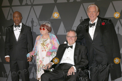 Agnes Varda Photo - LOS ANGELES - NOV 11  Charles Burnett Agnes Varda Owen Roizman Donald Sutherland at the AMPAS 9th Annual Governors Awards at Dolby Ballroom on November 11 2017 in Los Angeles CA