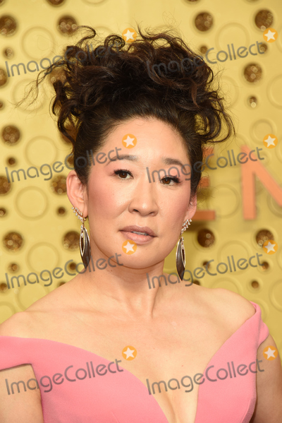 Sandra Oh Photo - LOS ANGELES - SEP 22  Sandra Oh at the Primetime Emmy Awards - Arrivals at the Microsoft Theater on September 22 2019 in Los Angeles CA