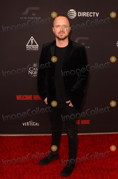 Aaron Paul Photo - LOS ANGELES - NOV 4  Aaron Paul at the Welcome Home LA Premiere at the The London West Hollywood on November 4 2018 in West Hollywood CA
