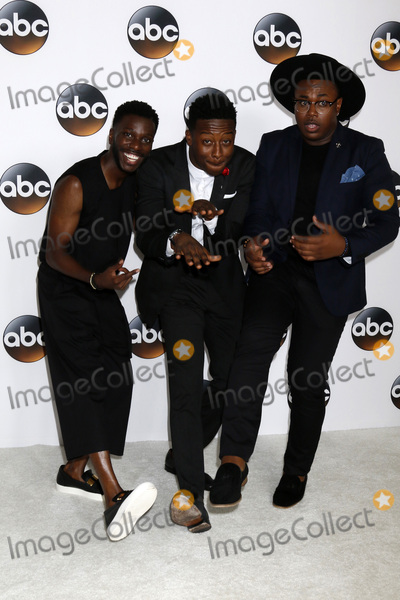 David Jones Photo - LOS ANGELES - AUG 6  Bernard David Jones Brandon Micheal Hall Marcel Spears at the ABC TCA Summer 2017 Party at the Beverly Hilton Hotel on August 6 2017 in Beverly Hills CA