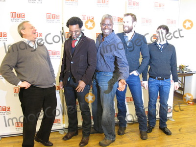 Andre Braugher Photo - New York NY 12172010Director Doug Hughes Andre Holland Andre Braugher Jay Wilkison and playright Mario LopezMeet  Greet for the new off-broadway playThe Whipping ManDigital photo by Adam Scull-PHOTOlinknet