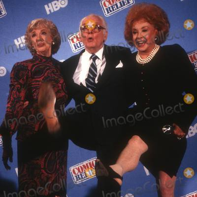 Art Carney Photo - Meadows Carney Randolph4443JPGCelebrity Archaeology1990 FILE PHOTONew York NYJoyce Randolph Art Carney Audrey Meadows Photo by Adam Scull-PHOTOlinknet
