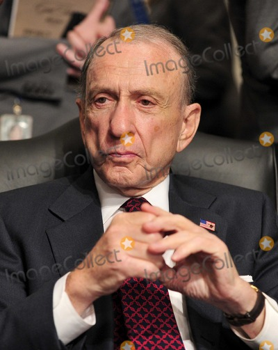 Arlen Specter Photo - United States Senator Arlen Specter (Democrat of Pennsylvania) photographed during Solicitor General Elena Kagans confirmation hearing as Associate Justice of the United States Supreme Court before the US Senate Judiciary Committee in Washington DC on Monday June 28 2010Photo by Ron Sachs-CNP-PHOTOlinknet
