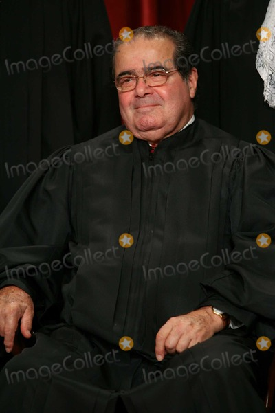Antonin Scalia Photo - Washington DC - September 29 2009 -- Associate Justice of the United States Supreme Court Antonin Scalia poses for a photo during a photo-op at the US Supreme Court in Washington DC on Tuesday September 29 2009Photo by Gary FabianoPOOL-CNP-PHOTOlinknet