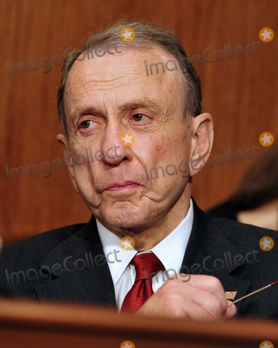 Arlen Specter Photo - United States Senator Arlen Specter (Democrat of Pennsylvania) listens to the opening remarks during the US Senate Committee on Environment and Public Works hearing entitled Economic and Environmental Impacts of the Recent Oil Spill in the Gulf of Mexico  in Washington DC on Tuesday May 11 2010Photo by Ron Sachs-CNP-PHOTOlinknet