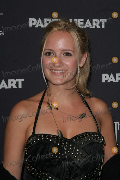 ANNIKA CONNOR Photo - New York New York 08-05-2009Annika ConnorPaperheart premiere AMC Loews 19th StreetDigital photo by George Lynn-PHOTOlinknet