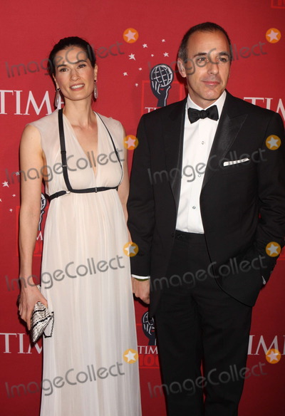 Annette Roque Photo - New York NY 05-08-2008Matt Lauer and wife Annette RoqueTIME 100 Most Influential People in the World Gala Frederick P Rose Hall Home of Jazz Lincoln CenterDigital photo by Sam Endicott-PHOTOlinknet
