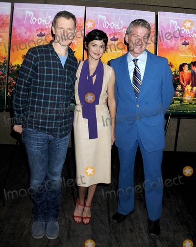 Audrey Tautou Photo - Photo by Dennis Van TinestarmaxinccomSTAR MAX2014ALL RIGHTS RESERVEDTelephoneFax (212) 995-119671614Michel Gondry Audrey Tautou and Tim League at the premiere of Mood Indigo(NYC)