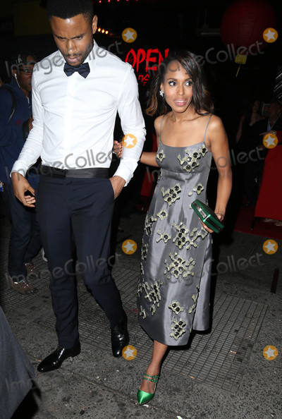Nnamdi Asomugha Photo - Photo by KGC-146starmaxinccomSTAR MAX2015ALL RIGHTS RESERVEDTelephoneFax (212) 995-11965415Nnamdi Asomugha and Kerry Washington at an after party following the Costume Institute Met Gala in New York City(NYC)