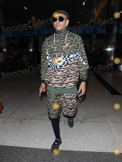 The Black EYED PEAS Photo - Photo by SMXRFstarmaxinccomSTAR MAX2018ALL RIGHTS RESERVEDTelephoneFax (212) 995-11968318apldeap and Taboo of the Black Eyed Peas is seen at LAX Airport in Los Angeles CA