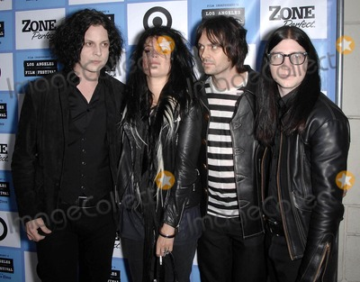 Alison Mosshart Photo - Photo by Michael Germanastarmaxinccom200961909Dead Weather (Jack White Alison Mosshart Dean Fertita and Jack Lawrence) at the Los Angeles Film Festival premiere of It Might Get Loud(Los Angeles CA)