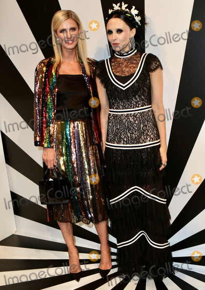 Alice and Olivia Photo - Photo by Nancy RiverastarmaxinccomSTAR MAXCopyright 2018ALL RIGHTS RESERVEDTelephoneFax (212) 995-119691118Nicky Hilton Rothschild and Stacey Bendet at the Alice and Olivia SS19 Fashion Presentation during New York Fashion Week in New York City(NYC)