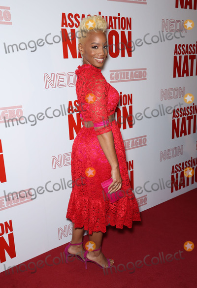 Anika Noni Rose Photo - Photo by John NacionstarmaxinccomSTAR MAXCopyright 2018ALL RIGHTS RESERVEDTelephoneFax (212) 995-119691718Anika Noni Rose at a screening of Assassination Nation in New York City(NYC)