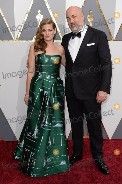 Andrea Berloff Photo - Photo by PDstarmaxinccomSTAR MAX2016ALL RIGHTS RESERVEDTelephoneFax (212) 995-119622816Andrea Berloff and Jonathan Herman at the 88th Annual Academy Awards (Oscars) in Hollywood CA(Los Angeles USA)