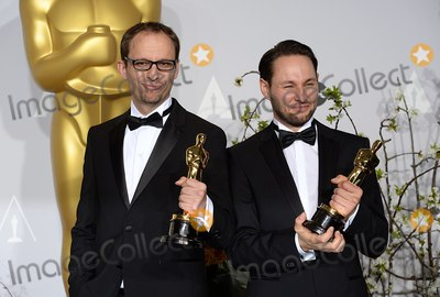 Alexandre Espigares Photo - Photo by Doug PetersstarmaxinccomSTAR MAX2014ALL RIGHTS RESERVEDTelephoneFax (212) 995-11963214Laurent Witz (left) and Alexandre Espigares at the 86th Annual Academy Awards (Oscars)(Hollywood CA)