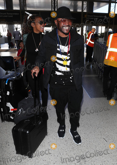 Black Eyed Peas Photo - Photo by SMXRFstarmaxinccomSTAR MAX2018ALL RIGHTS RESERVEDTelephoneFax (212) 995-11968318apldeap of the Black Eyed Peas is seen at LAX Airport in Los Angeles CA