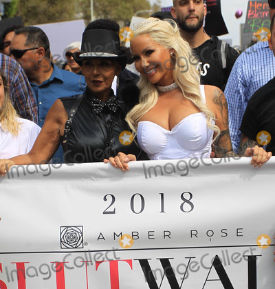 Amber Rose Photo - Photo by SMXRFstarmaxinccomSTAR MAX2018ALL RIGHTS RESERVEDTelephoneFax (212) 995-119610618Amber Rose at the 2018 Amber Rose Slut Walk in Los Angeles CA