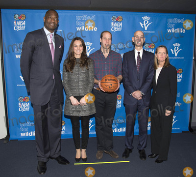 Adam Silver Photo - Photo by KGCstarmaxinccomSTAR MAX2014ALL RIGHTS RESERVEDTelephoneFax (212) 995-119612814Prince William The Duke of Cambridge and Kate Middleton Catherine The Duchess of Cambridge meet NBA Global Ambassador Dikembe Mutombo NBA Commissioner Adam Silver and NBA Senior Vice President of Community and Player Programs Kathleen Behrens during their visit to the Barclay Center in Brooklyn to watch the basketball game between the Cleveland Cavaliers and the Brooklyn Nets(NYC)