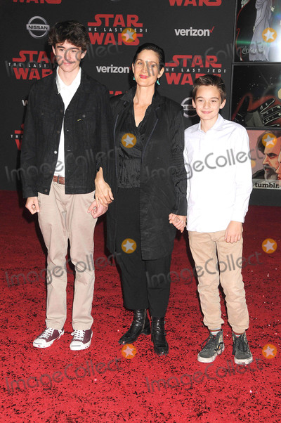 Carrie Anne Moss Photo - Photo by GalaxystarmaxinccomSTAR MAX2017ALL RIGHTS RESERVEDTelephoneFax (212) 995-119612917Carrie Anne Moss at the premiere of Star Wars The Last Jedi in Los Angeles CA