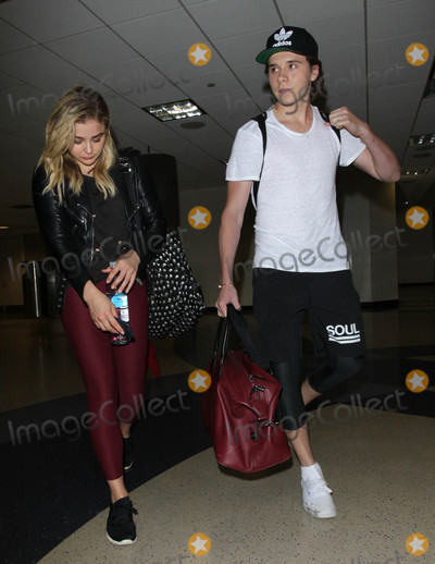 Chloe Moretz Photo - Photo by MCRFstarmaxinccomSTAR MAX2016ALL RIGHTS RESERVEDTelephoneFax (212) 995-119662916Chloe Moretz and Brooklyn Decker arrive at LAX Airport(Los Angeles CA)