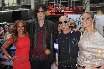 B Howard Photo - Photo by Dennis Van TinestarmaxinccomSTAR MAX2013ALL RIGHTS RESERVEDTelephoneFax (212) 995-11964913Mel B Howard Stern Howie Mandel and Heidi Klum at Americas Got Talent Auditions(NYC)