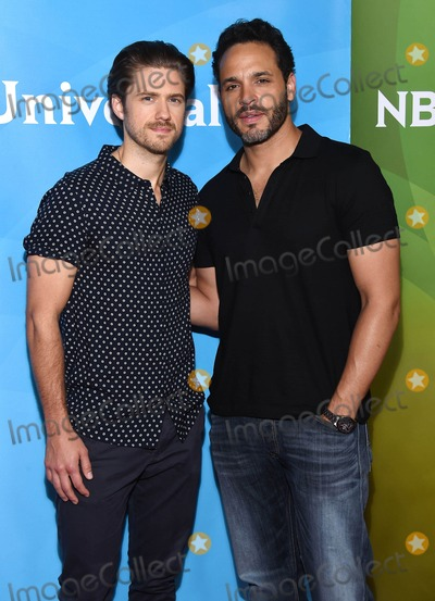 Aaron Tveit Photo - Photo by KGC-11starmaxinccomSTAR MAX2015ALL RIGHTS RESERVEDTelephoneFax (212) 995-11964215Aaron Tveit and Daniel Sunjata at the 2015 NBCUniversal Network Summer Press Day held at the Langham Huntington Hotel  Spa(Pasadena CA)