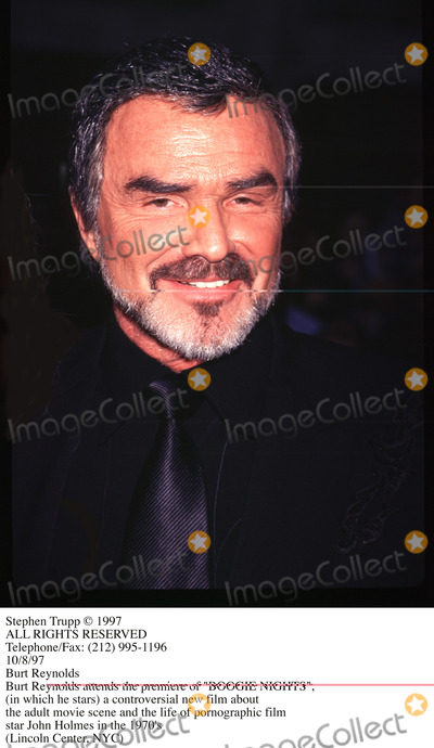 Burt Reynolds Photo - Photo by Stephen TruppSTAR MAX Inc - copyright 1997Burt Reynolds