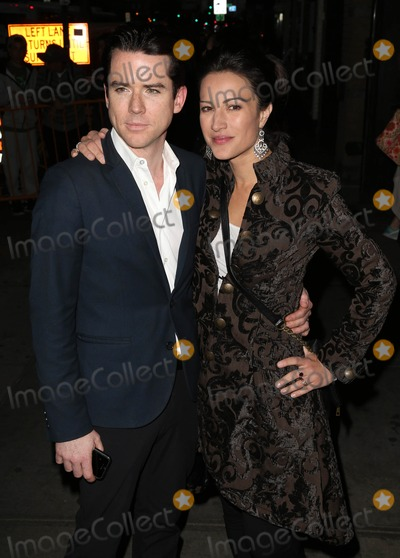 Christiane Campbell Photo - Photo by KGC-146starmaxinccomSTAR MAX2014ALL RIGHTS RESERVEDTelephoneFax (212) 995-119691714Christian Campbell and America Olivo at the premiere of The Two Faces of January(NYC)