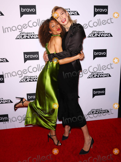 Elaine Welteroth Photo - Photo by John NacionstarmaxinccomSTAR MAX2019ALL RIGHTS RESERVEDTelephoneFax (212) 995-11963719Karlie Kloss and Elaine Welteroth at Bravos Project Runway Premiere in New York