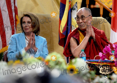 Jacob Javits Photo - Photo by Dennis Van TinestarmaxinccomSTAR MAXCopyright 2015ALL RIGHTS RESERVEDTelephoneFax (212) 995-119671015The Dalai Lama - with House Minority Leader Nancy Pelosi - celebrates his 80th birthday at a meditation ceremony at the Jacob Javits Convention Center(NYC)