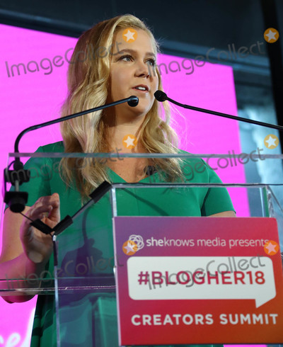 Amy Schumer Photo - Photo by John NacionstarmaxinccomSTAR MAX2018ALL RIGHTS RESERVEDTelephoneFax (212) 995-11968818Amy Schumer at BlogHer18 Creators Summit at Pier 17 in New York City