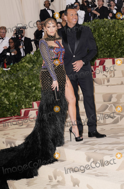 Alex Rodriguez Photo - Photo by XPXstarmaxinccomSTAR MAX2018ALL RIGHTS RESERVEDTelephoneFax (212) 995-11965718Jennifer Lopez and Alex Rodriguez at the 2018 Costume Institute Benefit Gala celebrating the opening of Heavenly Bodies Fashion and the Catholic Imagination(The Metropolitan Museum of Art NYC)