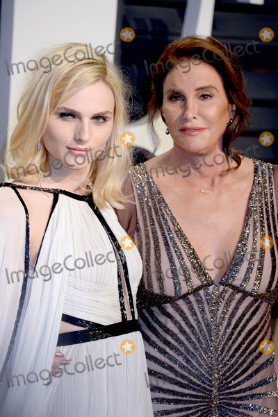 Andreja Pejic Photo - Photo by Dennis Van TinestarmaxinccomSTAR MAX2017ALL RIGHTS RESERVEDTelephoneFax (212) 995-119622617Caitlyn Jenner and Andreja Pejic at The 2017 Vanity Fair Oscar Party in Beverly Hills CA