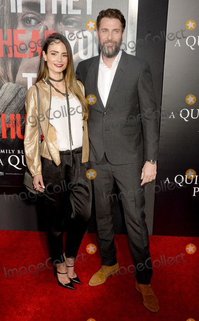 Andrew Form Photo - Photo by Dennis Van TinestarmaxinccomSTAR MAX2018ALL RIGHTS RESERVEDTelephoneFax (212) 995-11964218Jordana Brewster and Andrew Form at the premiere of A Quite Place in New York City