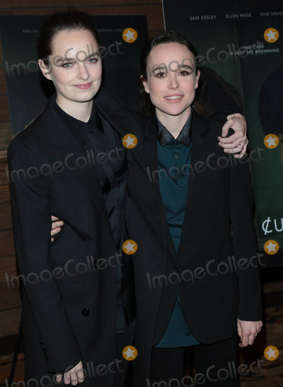 The Cure Photo - Photo by gotpapstarmaxinccomSTAR MAX2018ALL RIGHTS RESERVEDTelephoneFax (212) 995-119622018Emma Portner and Ellen Page at the premiere of The Cured in Los Angeles CA