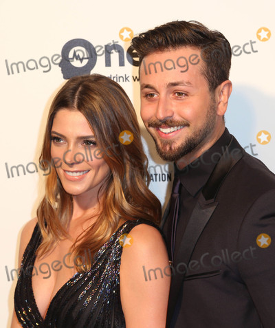 ASHLEY GREEN Photo - Photo by REWestcomstarmaxinccomSTAR MAX2016ALL RIGHTS RESERVEDTelephoneFax (212) 995-119622816Ashley Greene and Paul Khoury at The 2016 Elton John AIDS Foundation Academy Awards Viewing Party(West Hollywood CA)