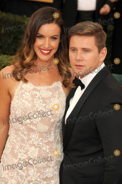 Allen Leech Photo - Photo by KGC-136starmaxinccomSTAR MAX2015ALL RIGHTS RESERVEDTelephoneFax (212) 995-119612515Charlie Webster and Allen Leech at the 21st Annual Screen Actors Guild (SAG) Awards(Los Angeles CA)