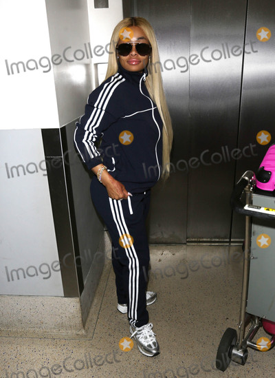 Blac Chyna Photo - Photo by SMXRFstarmaxinccomSTAR MAX2017ALL RIGHTS RESERVEDTelephoneFax (212) 995-119672317Blac Chyna is seen at LAX Airport in Los Angeles CA