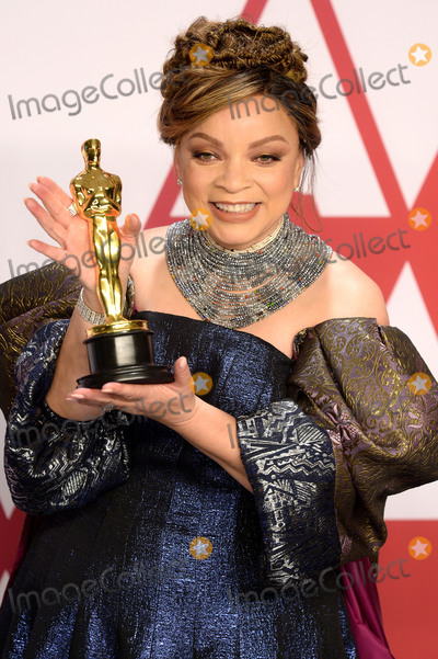 Black Panther Photo - Photo by Doug PetersstarmaxinccomSTAR MAXCopyright 2019ALL RIGHTS RESERVEDTelephoneFax (212) 995-119622419Ruth Carter winner of the Best Costume Design Award for Black Panther at the 91st Annual Academy Awards (Oscars) presented by the Academy of Motion Picture Arts and Sciences(Hollywood CA USA)