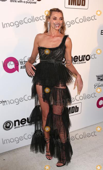 Alina Baikova Photo - Photo by REWestcomstarmaxinccomSTAR MAXCopyright 2019ALL RIGHTS RESERVEDTelephoneFax (212) 995-11962242019Alina Baikova at the 27th Annual Elton John AIDS Foundation Academy Awards Viewing Party(West Hollywood CA)