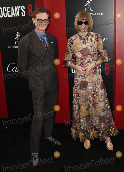 Anna Wintour Photo - Photo by John NacionstarmaxinccomSTAR MAX2018ALL RIGHTS RESERVEDTelephoneFax (212) 995-11966518Hamish Bowles and Anna Wintour at the premiere of Oceans 8 in New York City