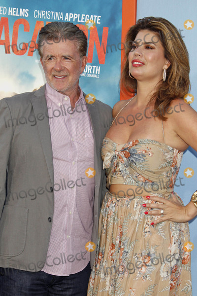 Alan Thicke Photo - Photo by REWestcomstarmaxinccomSTAR MAX2015ALL RIGHTS RESERVEDTelephoneFax (212) 995-119672715Alan Thicke and Tanya Callau at the premiere of Vacation(Westwood CA)