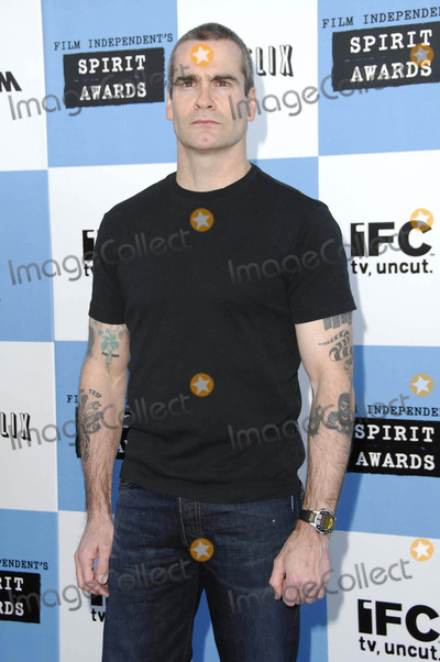 Henry Rollins Photo - Photo by Michael Germanastarmaxinccom200722407Henry Rollins at the Independent Spirit Awards(Santa Monica CA)