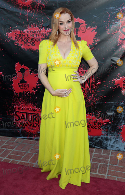 Saturn Awards Photo - Photo by zzgotpapstarmaxinccomSTAR MAXCopyright 2018ALL RIGHTS RESERVEDTelephoneFax (212) 995-119662718Annie Wersching at the Academy of Science Fiction Fantasy  Horror Films 44th Annual Saturn Awards held at The Castaway in Burbank Los Angeles CA