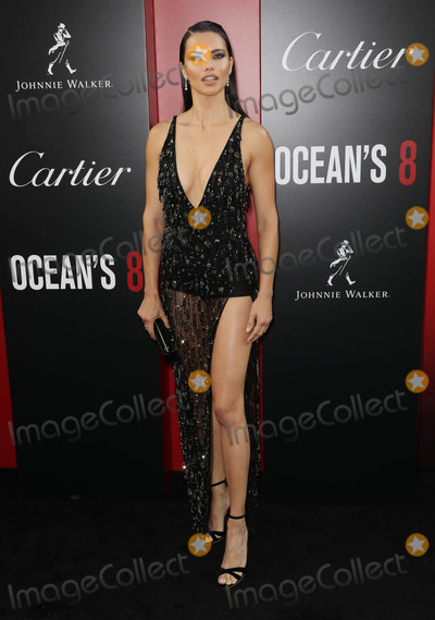 Adriana Lima Photo - Photo by John NacionstarmaxinccomSTAR MAX2018ALL RIGHTS RESERVEDTelephoneFax (212) 995-11966518Adriana Lima at the premiere of Oceans 8 in New York City