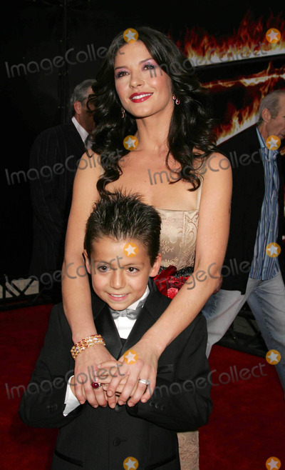 Adrian Alonso Photo - Photo by REWestcomstarmaxinccom2005101605Catherine Zeta-Jones and Adrian Alonso at the premiere of The Legend of Zorro(Los Angeles CA)