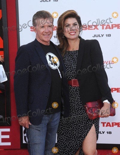 Alan Thicke Photo - Photo by KGC-11starmaxinccomSTAR MAX2014ALL RIGHTS RESERVEDTelephoneFax (212) 995-119671014Alan Thicke and Tanya Callau at the premiere of Sex Tape(Westwood CA)