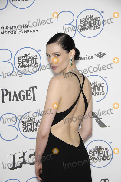 Alizee Gaillard Photo - Photo by Michael GermanastarmaxinccomSTAR MAX2015ALL RIGHTS RESERVEDTelephoneFax (212) 995-119622115Alizee Gaillard at the 2015 Film Independent Spirit Awards(Santa Monica CA)