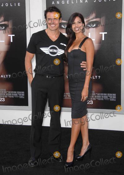 Antonio Sabato Jr Photo - Photo by Michael Germanastarmaxinccom201071910Antonio Sabato Jr and date at the premiere of Salt(Los Angeles CA)